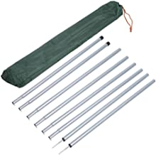 Shelters and Awnings. Backpacking HIKEMAN Tent Accessories,2Pcs Iron Supporting Rod,Iron Tent Poles for Camping