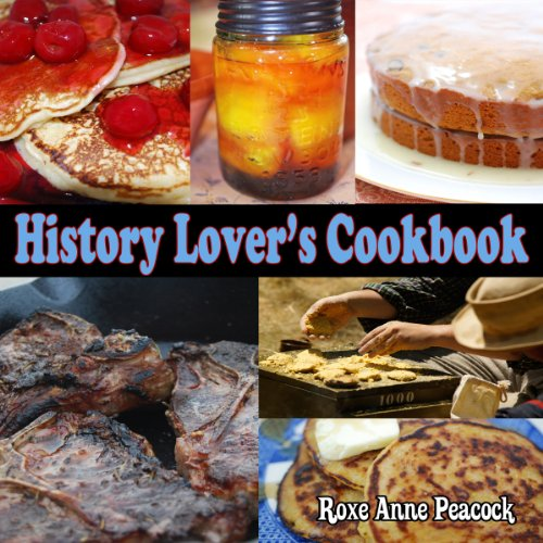 History Lover's Cookbook audiobook cover art