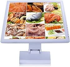 Monitor LCD táctil SenderPick de 17 Pulgadas, Pantalla con Soporte POS con resolución USB, 1280 x 1024, Pantalla táctil VGA para comercios minoristas y restaurantes