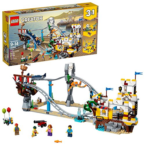 LEGO Creator 3in1 Pirate Roller Coaster...