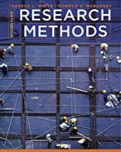 By Theresa L. White - Research Methods (9th Edition) (2012-05-18) [Hardcover]
