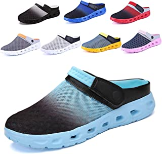 CCZZ Mens Womens Garden Clogs Shoes Summer Breathable Mesh Sandals Slippers Indoor Outdoor Slippers Quick Drying Water Shoes