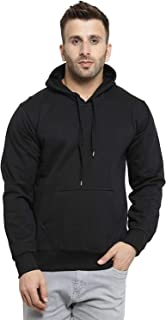 Ytrick Men's Cotton Hooded Sweatshirt
