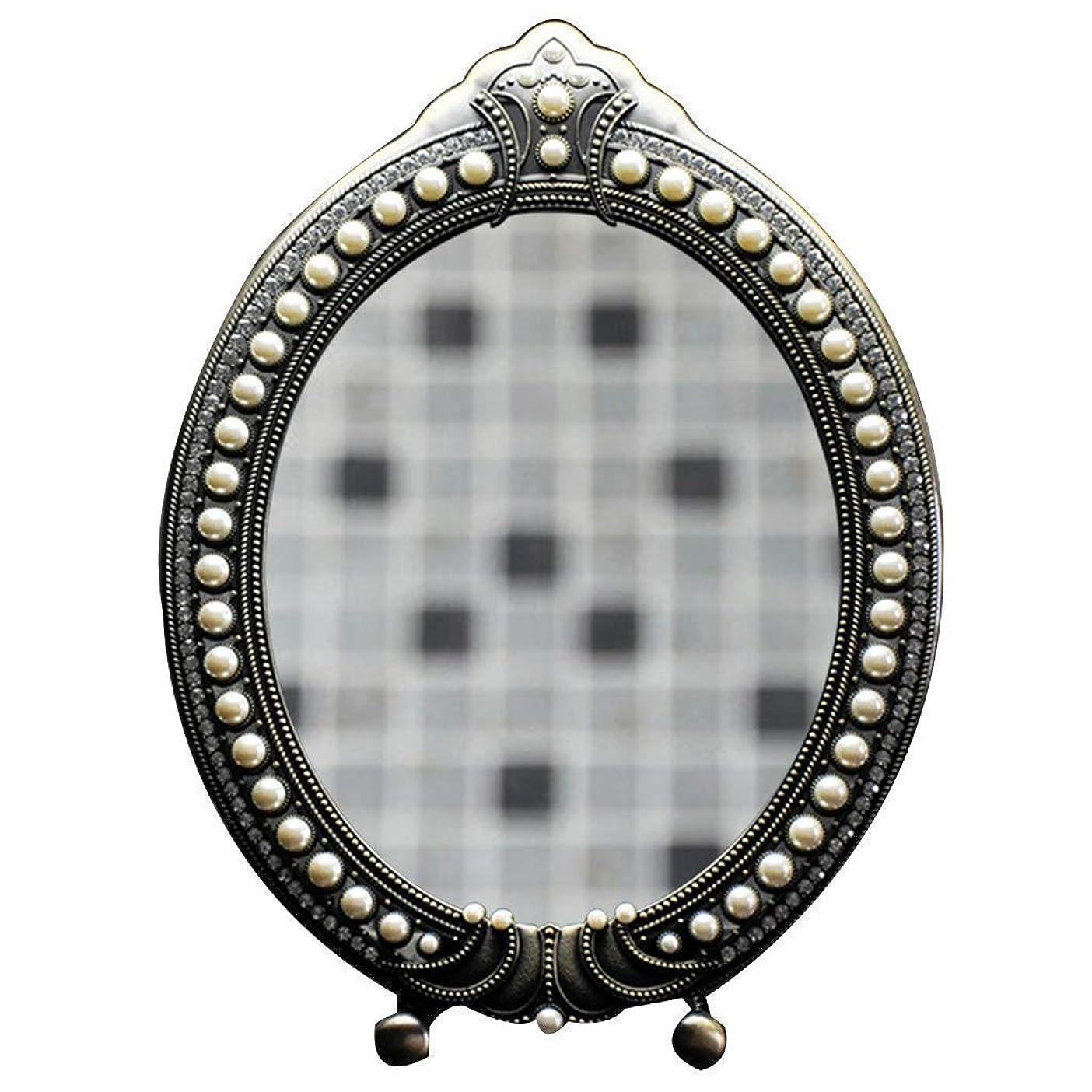 言い聞かせる傑出したパパZY-YY 16 LED LightesウォールのLED化粧鏡化粧ミラーメイクアップミラーUSB充電式/バッテリーは、カウンター化粧品のベッドルームのためにバニティミラーをマウント