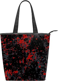 Canvas Shoulder Bag Coloful Casual Big Shoppingbags Tote Handbag Travel Bags for Women Ladies