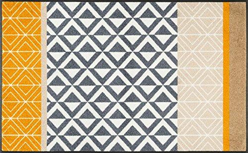 Wash + Dry Matte, Polyamide, Mehrfarbig, 75 x 120 cm