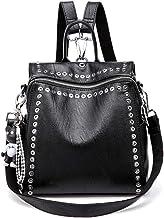 Bolsos Mochila Mujer Antirrobo Bolso de Hombro, JOSEKO Mochila de Piel Genuina Mochilas Casual Bolsa Bandolera Messenger Bag Backpack