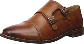 Florsheim Men's Montinaro Double Monk-Strap Leather Dress Shoes