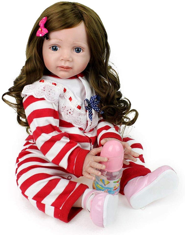 Mr.LQ Realistisch wiedergeborene Baby Dolls Prinzessin Girl Geschenkpartner Toy kann Nicht in das Wasser