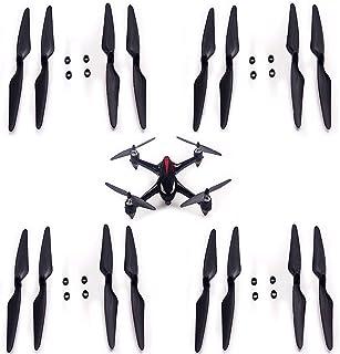 Bianco JRUIAN 4Pcs Elica a 3 Pale per Mb6 B6W B6F B6Fd B8 B5W F20 B8 PRO Bugs 6 Bugs 8 Bugs 5W Rc Drone Size : White