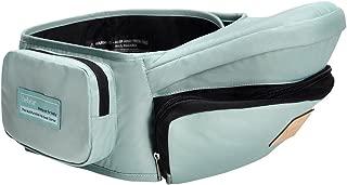 Bebamour Lightweight Baby Toddler Hip Seat Carrier Baby Waist Seat (Light Green)