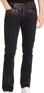 Calvin Klein Jeans Men's Slim Distressed Copper 5 Pocket Jeans