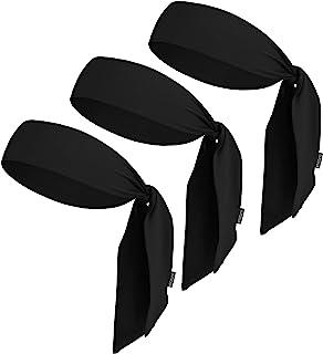 Tie Headbands - Ninja & Karate Head Ties for Kids, Men, Women & Pirates - Sports Head Band, Athletic Sweatband, Bandana fo...
