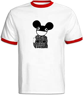 Men's Bonnaroo Festival 2016 Deadmau5 Soft T-shirt Black