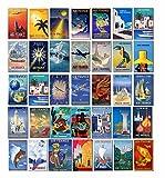 Vintage Air France Airlines equipaje etiquetas–Maleta viaje carteles Retro Pack de 35pegatinas de PVC