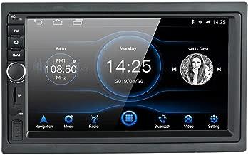 EZoneTronics Android 8.1 Entretenimiento Multimedia Car Radio 1024x600 GPS Navegación Estéreo Player 1G RAM + 16G ROM con Bluetooth USB AM / FM / RDS Mirror Link Steering Wheel Control
