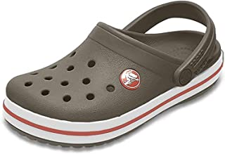 Crocs Unisex-Child Crocband Clog | Slip on Boys and Girls | Water Shoes