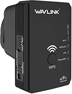 WAVLINK AC750Mbps Dual Band Mini WIFI Extender,2.4GHz and 5GHz(300Mbps+433Mbps) Wireless Signal Amplifier Booster With Thr...