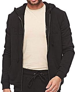 Bodytalk Top Zip Sweater For Men, Black, M