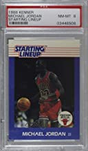 Michael Jordan Graded PSA 8 NM-MT (Basketball Card) 1988 Kenner Starting Lineup Cards - [Base] #MIJO