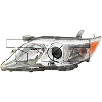 TYC 20-6575-00-1 Compatible with TOYOTA Camry Right Replacement Head Lamp