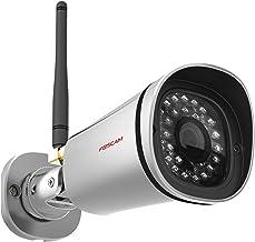 Foscam HD 1080P Outdoor WiFi Security Camera – Weatherproof IP66 Bullet / 2.1MP IP Wireless Surveillance Camera System wit...