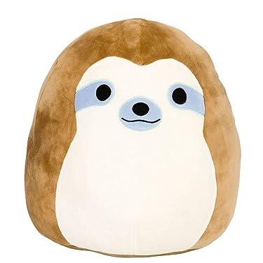"""Squishmallow 16"""" Simon Sloth"""