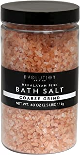 Evolution Salt - Bath Crystal Himalayan Salt Coarse Grind 40 oz