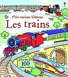 Les trains - P'tits curieux Usborne