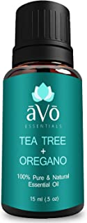 āVō Skin Tag Removal - Helps with Ringworm, Toenail Fungus, and Psoriasis - Pure Tea Tree Oil and Oregano Oil - 100% Therapeutic Grade Essential Oil - 15ml