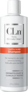 CLn Shampoo for Scalp Prone to Folliculitis, Dermatitis, Dandruff, Itchy and Flaky Scalp, 8 oz.