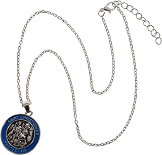 St Christopher Pendant Saint Necklace