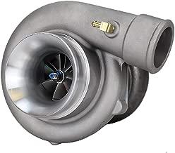 Rev9Power ( TX-60-62-T3-4B-85 ) TX-60-62 Turbocharger 85 A/R ( T3 flange / 4 bolt exhaust ) 600HP + Oil Cooled / Journal Bearing