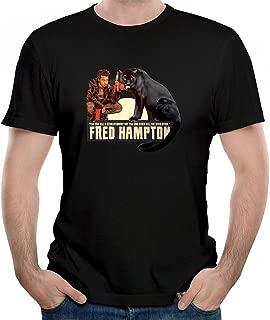 Men's Dollop Fred Hampton Graphic T-Shirt Fashion Design Funny Gift Printed Tshirt Unisex Tees