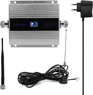 Romacci LCD GSM900MHz Amplificador de sinal de celular repetidor de sinal de celular com antena de otário