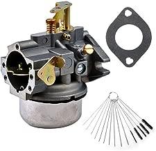 Dosens Carburetor Replacement for Kohler K241 K301 Cast Iron 10 HP 12 HP Engine Carb & Carbon Dirt Jet Cleaner Tool Kit