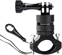 Motorcycle/Bicycle/Mountain Bike Handlebar Mount, Upgraded Aluminum Alloy 360 Rotation, Compatible with GoPro 8 Hero5 4 3+ 3 2 1 and Other Cameras