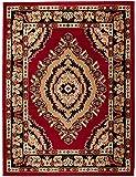 Alfombra 250 x 300 cm XL Grandes Rojo Oriental Decoración Diseño/Carpeto Colección Verona