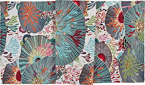 Sander 'Sea Flower' Mitteldecke Tischläufer, Verschiedene Größen, FB 40 original, Größe:Tischsets 35 x 50 cm