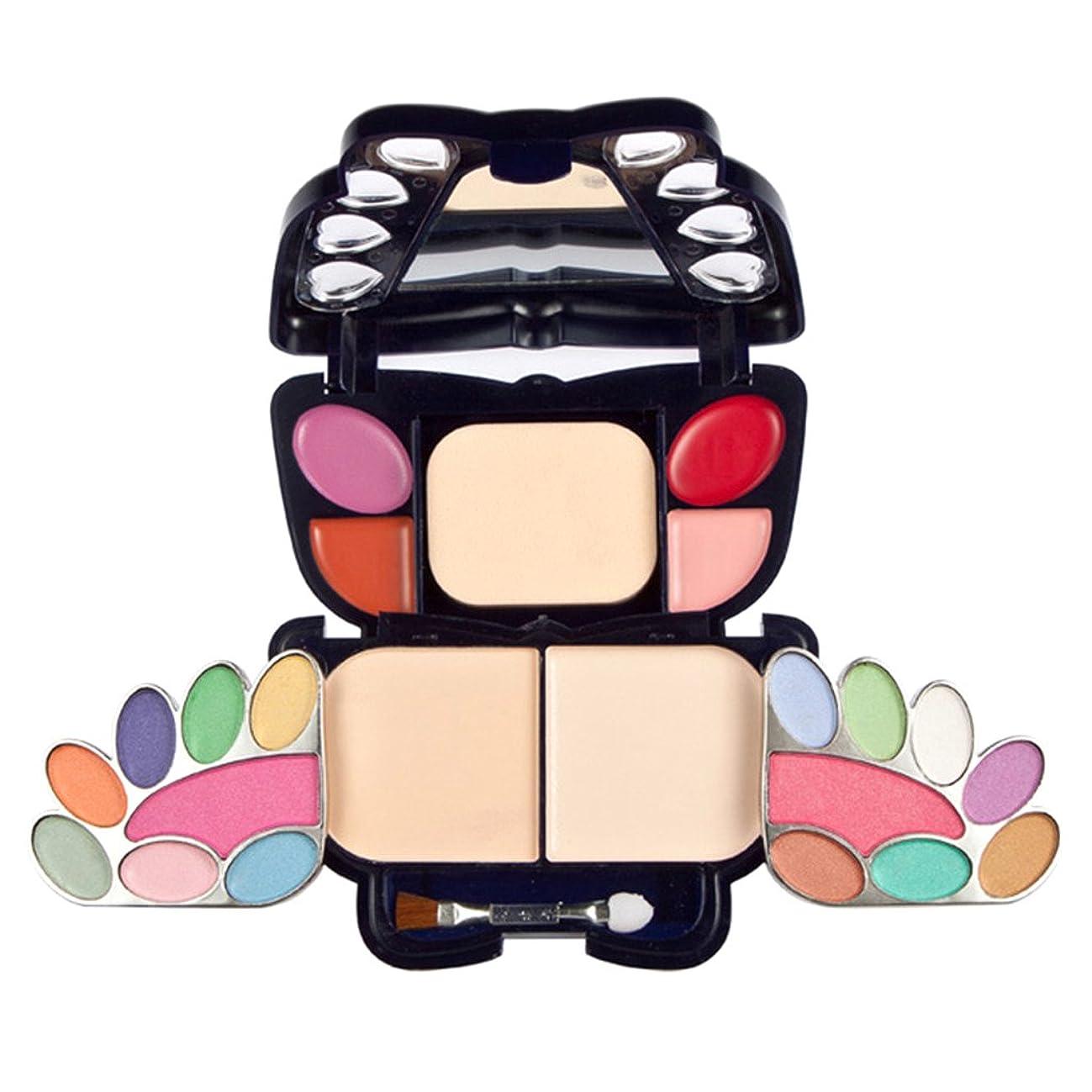 安息マニュアルアライメントKesoto メイクパレット アイシャドウ 毛穴隠す バタフライ 化粧パレット カラーメイクアップパレット