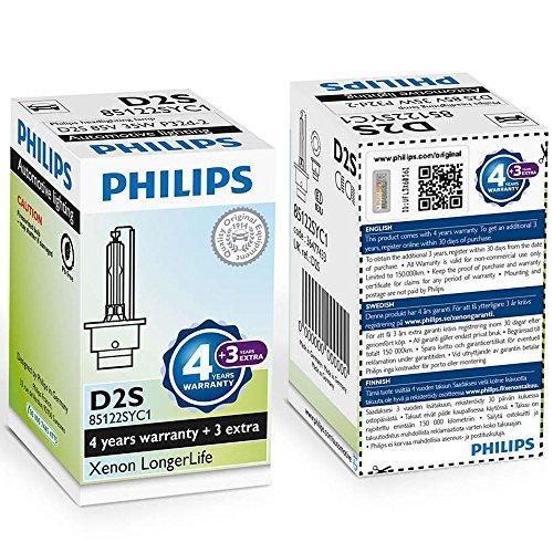 Philips D2S 35 W p32d de 2 Xenon longerlife 4300 K Foco Nuevo 1er 85122syc1