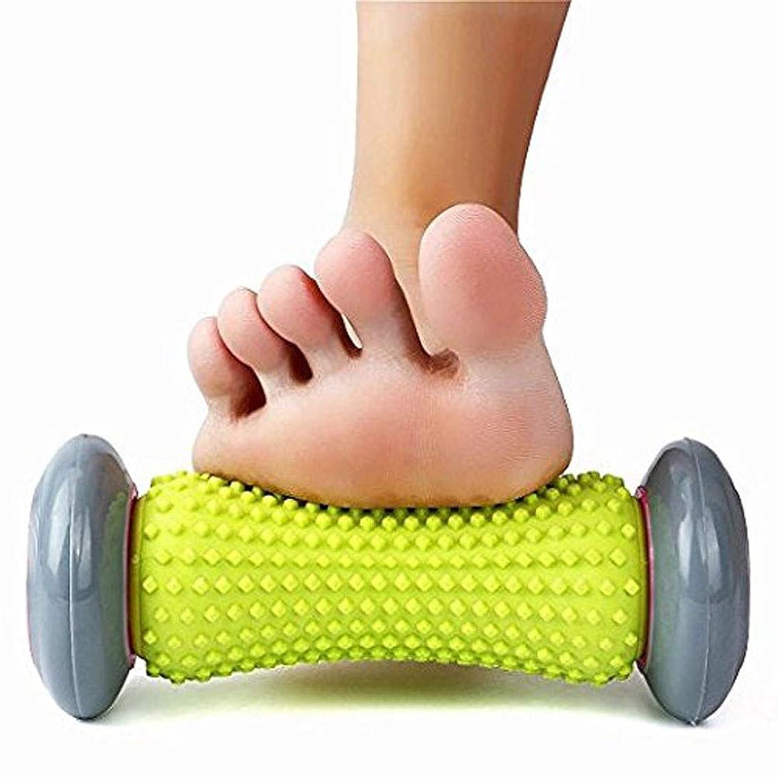 FEN フットマッサージャー - 足底筋膜炎ローラー、鎮痛ピンクブルーのローリング治療 (Energy A+) (色 : Pink)