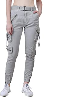 Meoby Women's Loose Fit Cargos