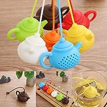 Kitchen & Dining Gadget Teapot-Shape Diffu ser Tea Infu ser Tea Leaf Filter Strainer