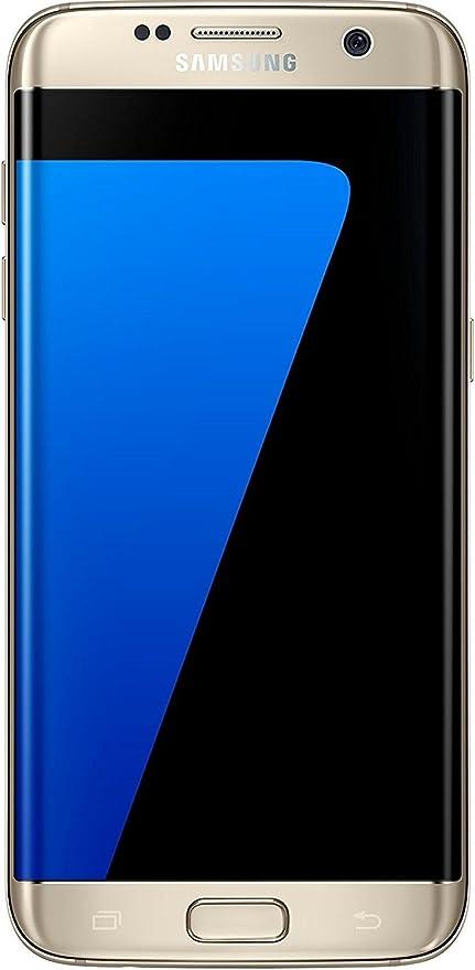 Samsung Galaxy S7 Edge 32gb 5 5 12mp Sim Free Smartphone In Gold Amazon De Elektronik Foto