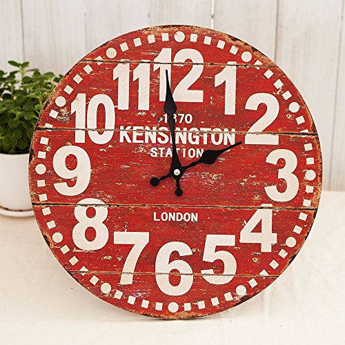 CNBBGJ American Home, décoration maison, l'horloge, décoration de salon,