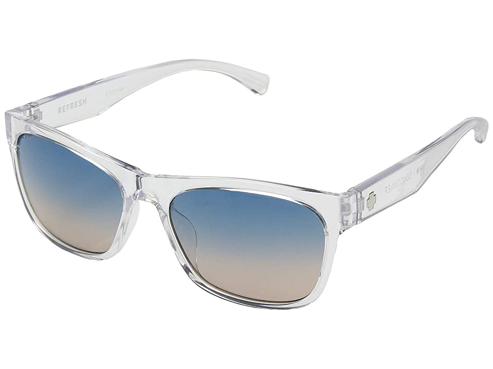 Spy Optic Sundowner (Clear/Blue Sunset Fade) Sport Sunglasses