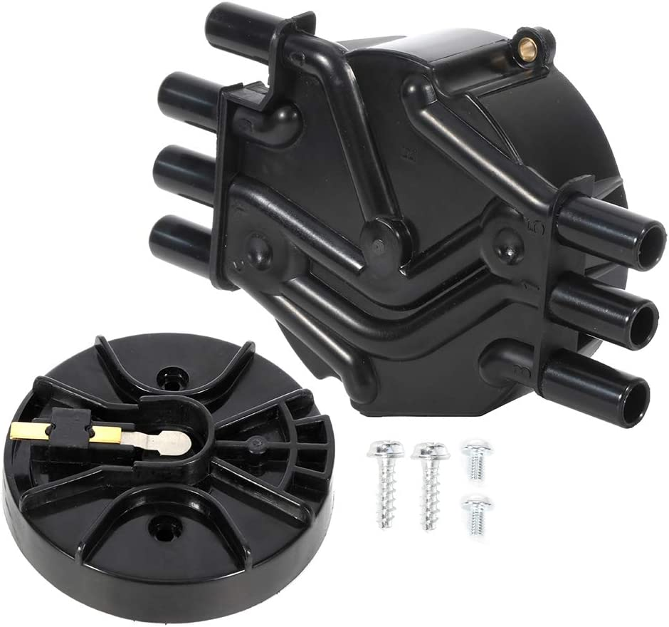 LSAILON New Ignition Distributor Chev-y Cap 5 ☆ popular for Replacement Max 47% OFF