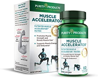 Muscle Accelerator by Purity Products - 650 mg RipFactor Patented & Clinically Tested Muscle Accelerator Blend of Ayurvedi...