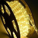 DREAMADE Lichterschlauch Lichtschlauch Lichterkette LED-Lichtschlauch 20M Länge 720 LEDs 50000h...